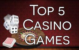 Topp 5 casinospel
